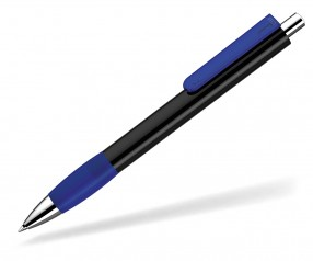 UMA Kugelschreiber PUSH grip 0-0118 KT SI schwarz dunkelblau