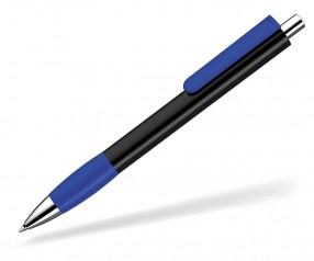 UMA Kugelschreiber PUSH grip 0-0118 SI schwarz dunkelblau