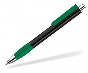 UMA Kugelschreiber PUSH grip 0-0118 SI schwarz dunkelgrün