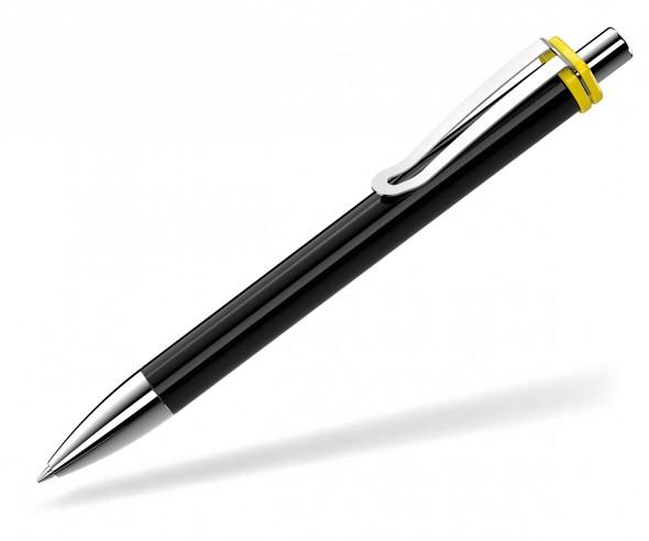 UMA Kugelschreiber VOGUE XL 00136 SI schwarz gelb