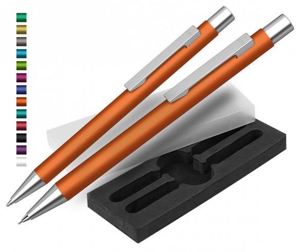 Kugelschreiber & Bleistift Set UMA Straight SI
