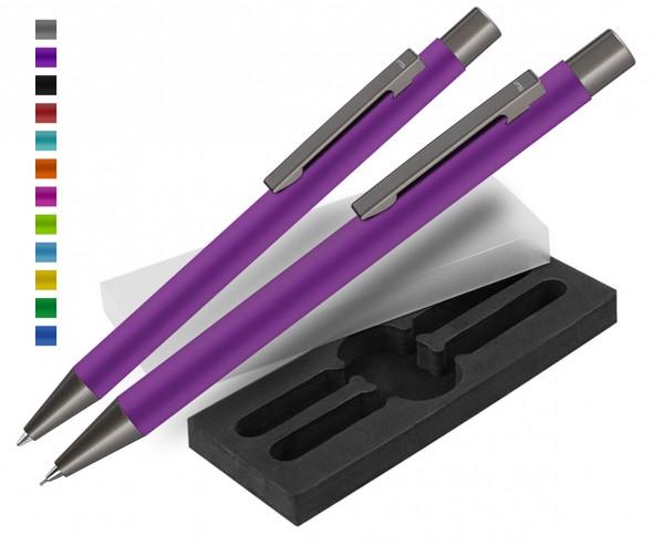 Werbekugelschreiber & Bleistift Set Straight GUM