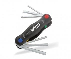 Wiha TORX®-Klapphalter PocketStar® 24859 mit Logodruck