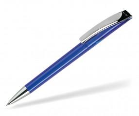 DreamPen EVO Transparent Metallclip EMT1020 Werbekugelschreiber blau