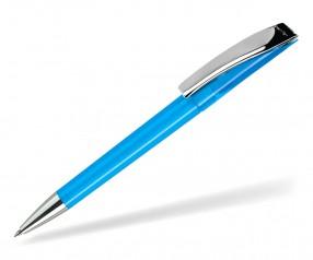 DreamPen EVO Transparent Metallclip EMT1021 Werbekugelschreiber hellblau