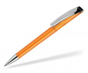 DreamPen EVO Transparent Metallclip EMT1060 Werbekugelschreiber orange