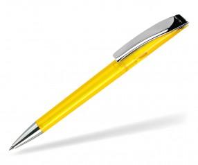 DreamPen EVO Transparent Metallclip EMT1080 Werbekugelschreiber gelb