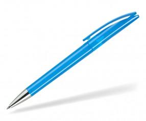 DreamPen EVO Transparent ET1021 Werbekugelschreiber hellblau