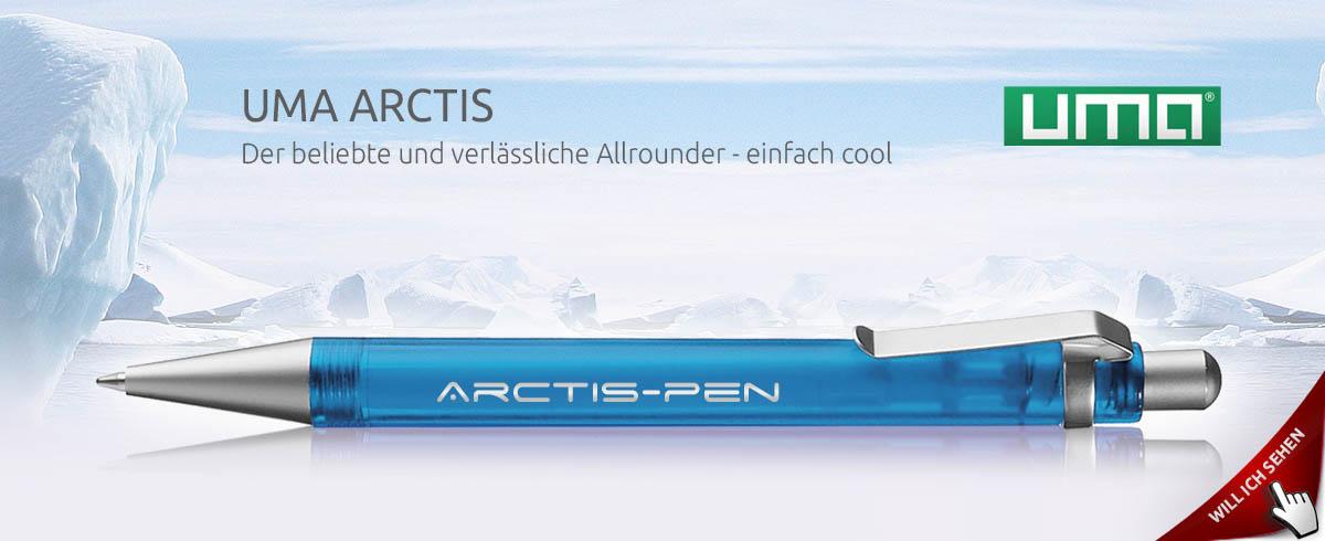 Werbekugelschreiber ARCTIS - Ein Bestseller von UMA