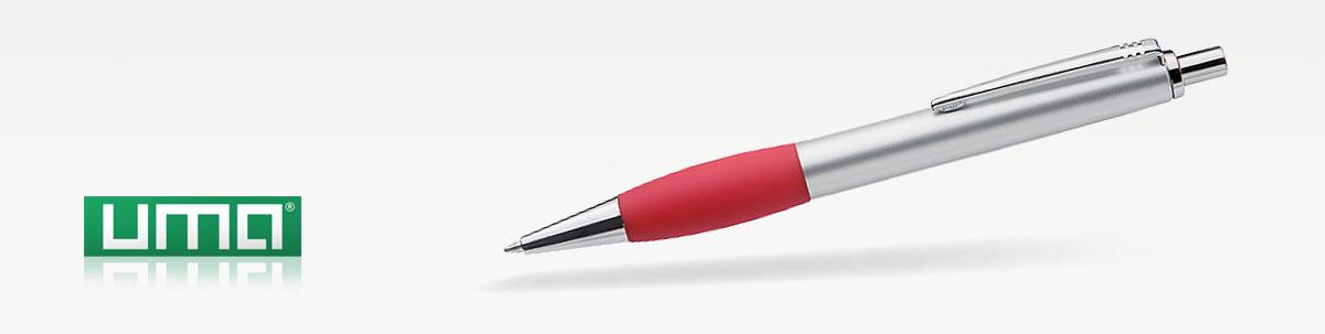 UMA GALA Kugelschreiber Beschriftung