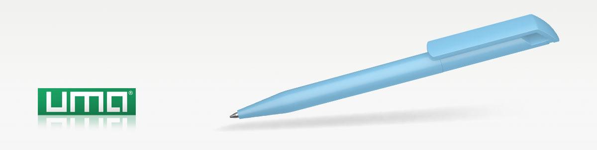 Kugelschreiberwerbung mit UMA POP